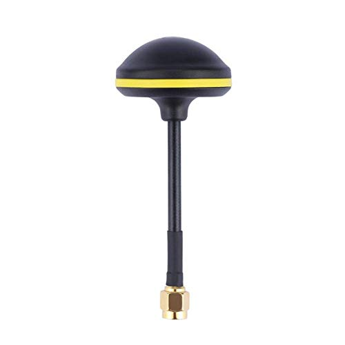 Gcdn Antena 14dBi FPV SMA 5.8GHz VR Goggles Gh Seta Pieza de Repuesto para RC Juguetes Modelos - Paquete incluido: 1 x antena de hongos. Proporcionar la mayor compatibilidad para las gafas FPV y otras gafas receptoras - 14 Dbi. Frecuencia: 5.8GHz. Co...
