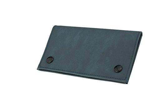 Ciggy Jumper Tabaktasche Ciggy Jumper® im Premium Used Leather Style mit Single Blättchen- oder Doppel-blättchen-Fach, Tabak-Beutel, Drehertasche mit Filterfach, Reißverschlusstaschen, Blättchenhalter div. Farben