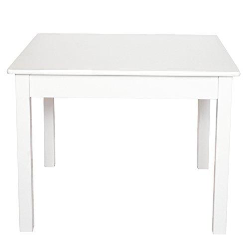 JaBaDaBaDo H13206 Tisch, quadratisch, Weiß -