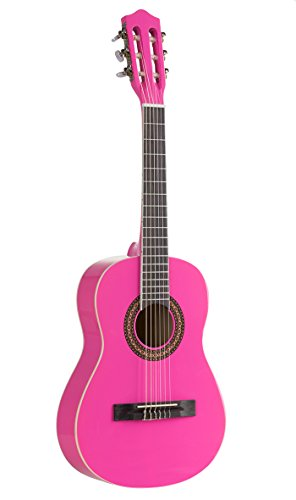 Voggenreiter - Kindergitarre 1/2 Größe, pink