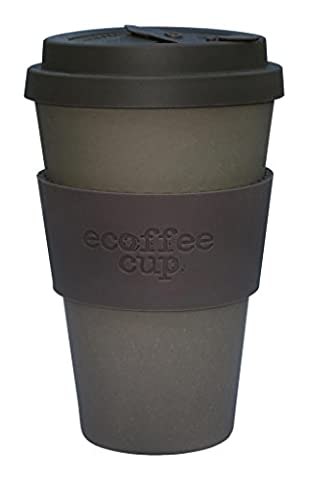 Ecoffee Cup - Corretto with Grey Brown Silicone