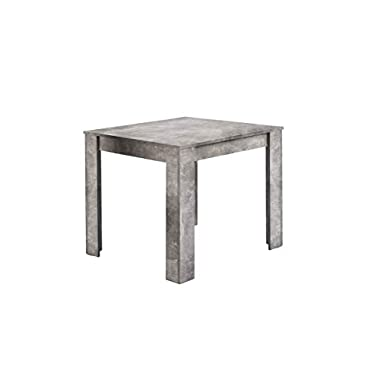 Homexperts Tisch, Beton-Optik, 80 x 80 cm