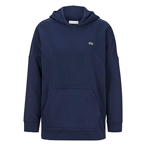 Lacoste SF3525 Damen Kapuzenpulli,Frauen Kapuzenpullover,Hoodie,Sweatshirt,Navy Blue/Navy Blue(423),38