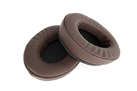 Brainwavz Coussinets en mousse à mémoire de forme Adaptés pour de nombreux casques AKG, HiFiMan, ATH, Philips, Fostex, Grado, Sony Ear Pad