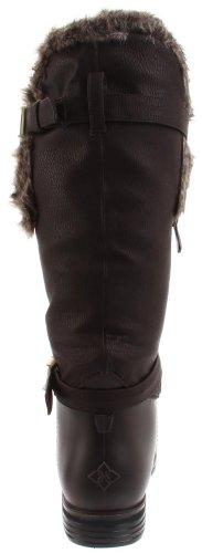 Dav English Fur Cuff, Bottes femme Marron-V.5