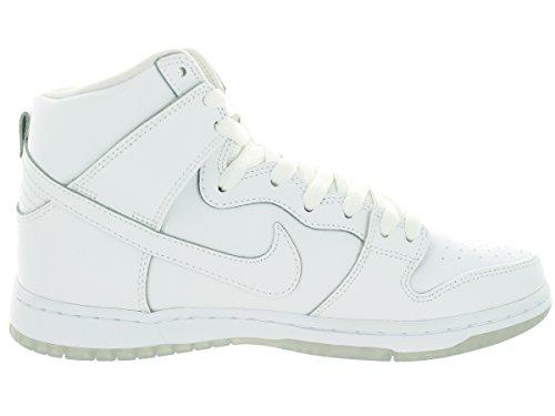 Nike Dunk High Pro Sb Skate-Schuh White/White/Lt Base Grey