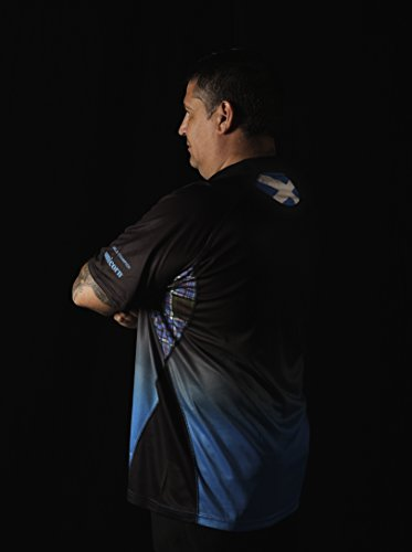 Einhorn Herren Team-Trikot Gary Anderson blau
