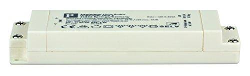 Preisvergleich Produktbild Transformator elektronisch Halo+LED 0-65 Watt Weiß B/DxHxT 40x19x123mm