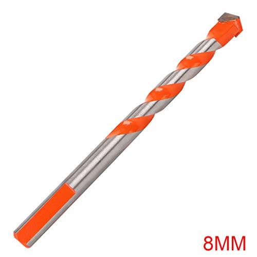 Bomcomi DREI Winkel Shank Drill Multifunktionale Keramik Glas Loch Wand Kobalt Twist Spirale Bit-Fliese Betonbohrer-Werkzeug -