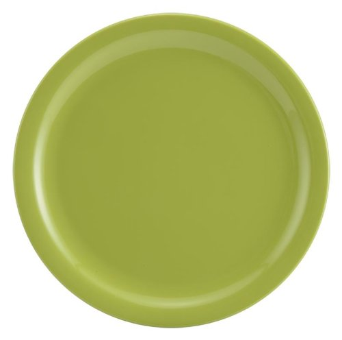 Servewell Round Side Plate Set, 19cm, Set of 6, Green