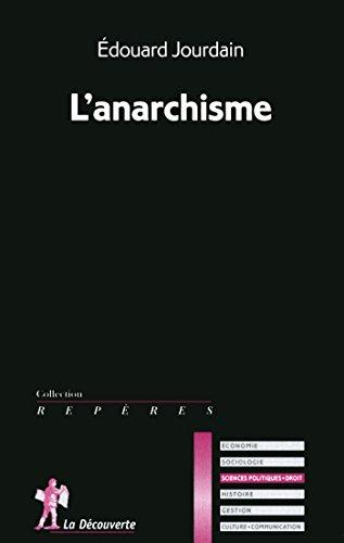 L'anarchisme (REPERES t. 611) par Édouard JOURDAIN