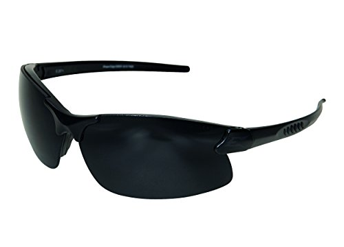 2e83e42ec2 Edgeware Adultos Tactical Safety Eyewear, Sharp Edge, Negro Mate,  Revestimiento antiarañazos, herraje