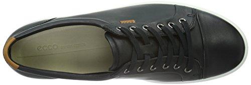 Ecco Soft 7, Baskets Basses Femme Noir (BLACK01001)