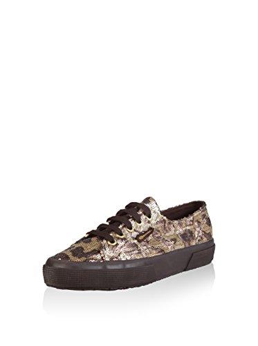 Superga 2750-Paicamow, Sneaker, Donna GOLD-BRONZE
