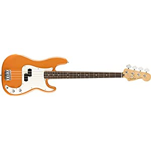 Fender Player Precision Bass®, Pau Ferro Fingerboard, Capri Orange