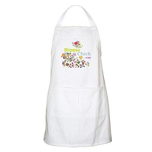 CafePress-Hippie Chick en corazón delantal-delantal de cocina