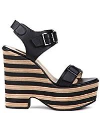 Fornarina PE17PY1008C000 Sandalias Altos Mujeres  Zapatos de moda en línea Obtenga el mejor descuento de venta caliente-Descuento más grande