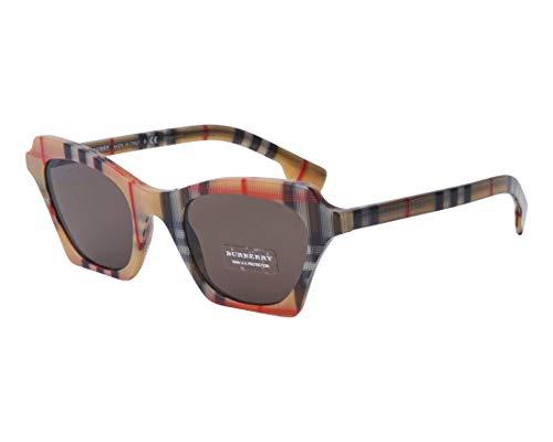BURBERRY Sonnenbrillen Bluebird BE 4283 Vintage Check/Grey Brown Damenbrillen