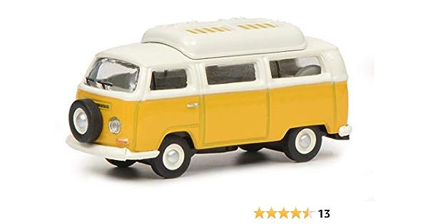 Schuco VW T3a Bus L modellino Auto in Scala 1:87 452650900 Blu//Bianco