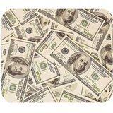 Funny Money US Dollar valuta Mouse Pad, centinaia di 100 dollari luce rettangolare in gomma antiscivolo, tappetino Mouse Pad-Tappetino per Mouse Gaming