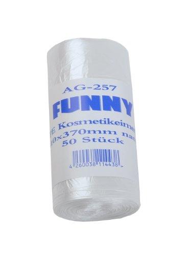 Divertente Lotto 40 scatole da 50 sacchi per immondizia HDPE bagno trasparente 310 x 370 mm