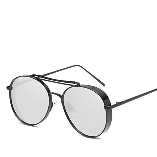 WZYMNTYJ Personalisierte Frauen Sonnenbrille Legierung Rahmen Verdicken Rim Coole Männer Marke Männlich Weiblich Sonnenbrille Shades Anti-UV