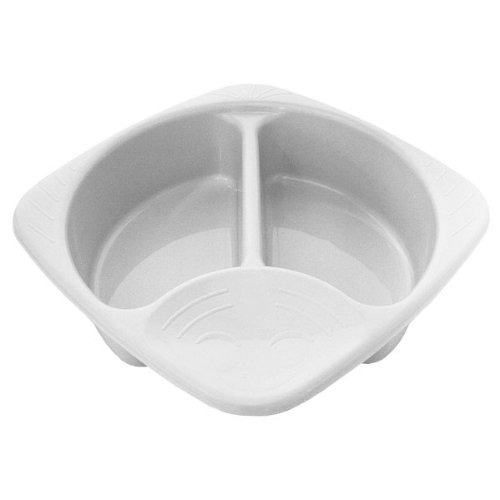 Junior Joy White Plastic Top and Tail Bowl for Baby Test