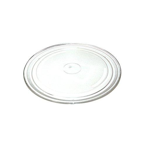 First4Spares - Mesa giratoria universal para microondas, color blanco