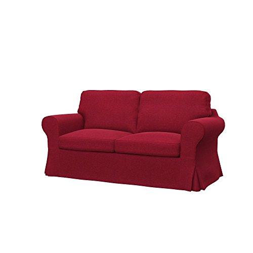 Soferia - IKEA EKTORP Funda para sofá Cama de 2 plazas, Classic...