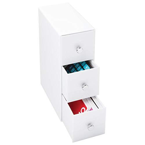 MDesign Organizador cajones – Color: blanco –
