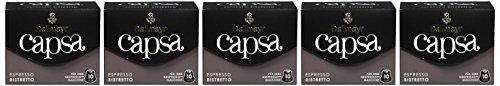 Dallmayr Kaffee capsa Espresso Ristretto Kaffeekapseln, 5er Pack (5 x 10 Kapseln)