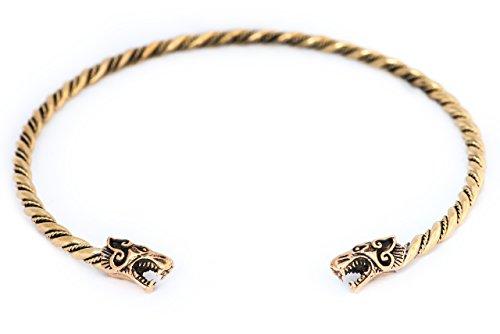 windalf Mujeres Vikingo Tor Ques fenrar Diámetro 13Cm Vikingo joyas puede Bronce