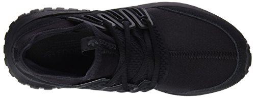 adidas Unisex-Erwachsene Tubular Radial Low-Top Schwarz (Core Black/Core Black/Dark Grey)