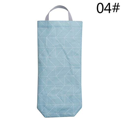Louzheni 1pc fashion grid pattern hanging cucina garbage storage packing oxford bag