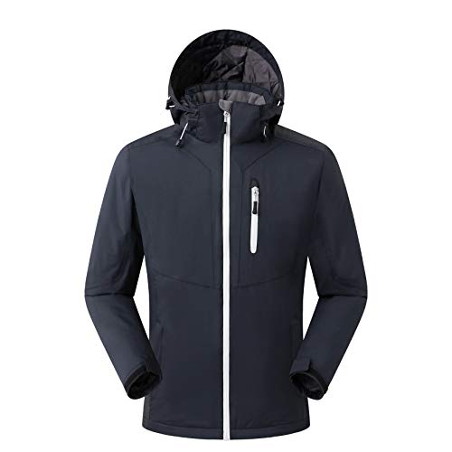 Eono Essentials giacca da sci da uomo colore nero taglia S