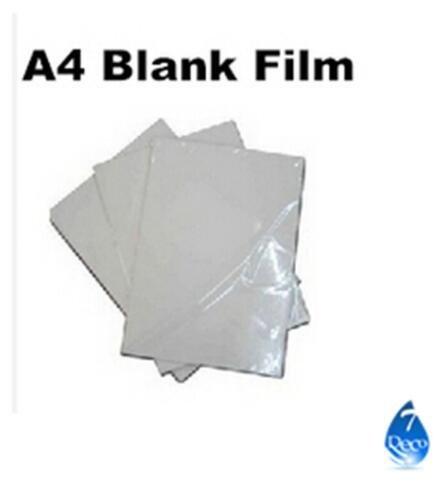 Preisvergleich Produktbild 5Stück blanko Wassertransferdruck-Folie für Tintenstrahldrucker, A4-Größe, Hydrographische Folie, dekoratives Material