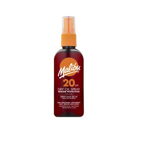 Malibu dry oil spray spf20 con 100 ml