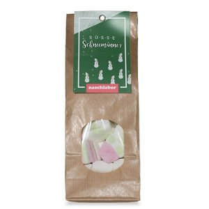 Süße Schneemänner Marshmallows von Naschlabor - Die perfekte Einstimmung für deine Weihnachtszeit
