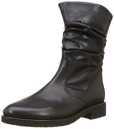 Gabor Shoes Damen Comfort Sport Hohe Stiefel, Schwarz(Nickif.) 98, 39 EU