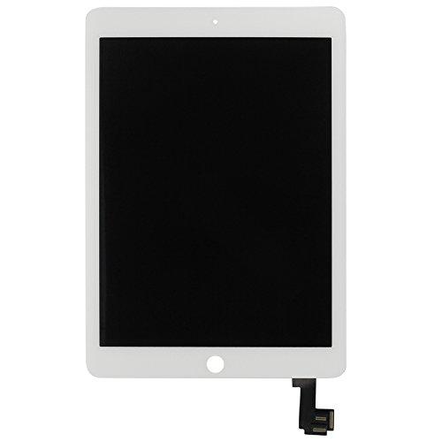 Komplett Displayeinheit Display für Apple iPad Air 2 LCD Touch Screen Digitizer Ersatzteil Reparatur Zubehör Weis (Ipad Air 2-lcd-digitizer)
