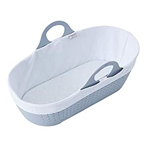 Tommee Tippee Sleepee Baby Moses Basket Grey   1