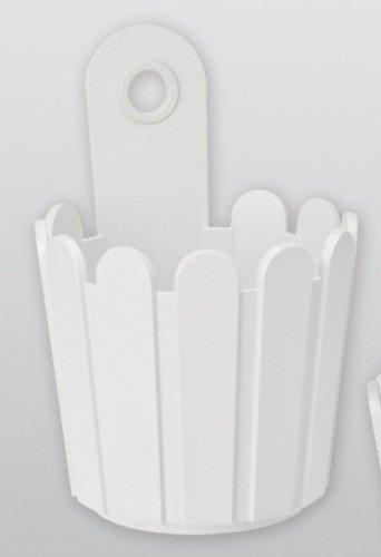 Preisvergleich Produktbild EMSA Landhaus Fässchen Ø15, 5x22 cm weiß - 513445