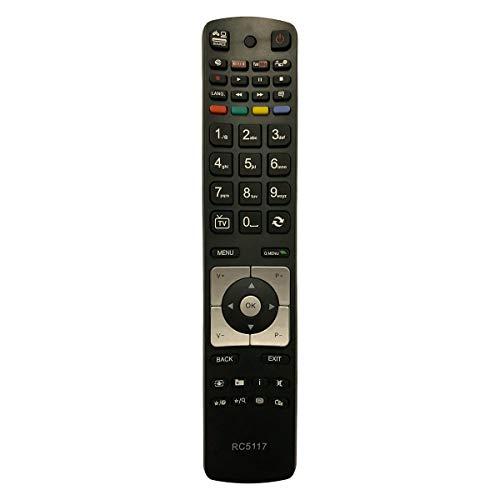 Ersatz TV Fernbedienung für Sharp Schaub-Lorenz Fernseher