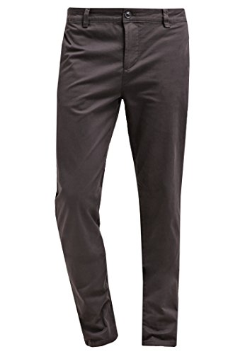 YOURTURN Herren Chino Hose in Anthrazit Grau - Herrenhosen lang, 32