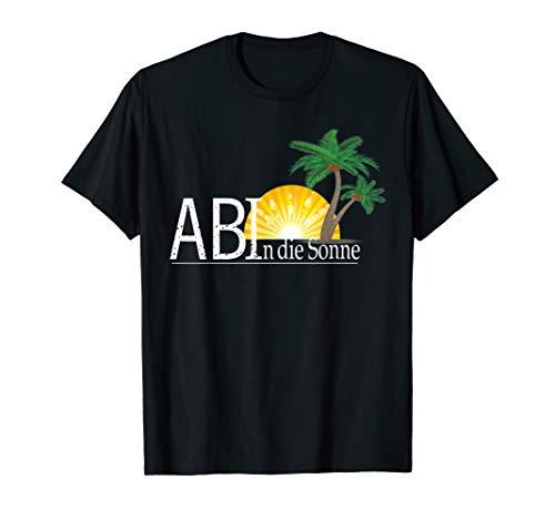 Abitur 2020 - Ab in die Sonne Motto T-Shirt