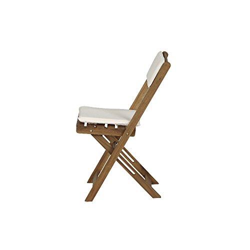 Siena-Garden-673122-Almeria-Set-de-Balcon-2-Chaises-Pliantes-1-Table-avec-Coussin-cru-Acacia-60-x-60-cm