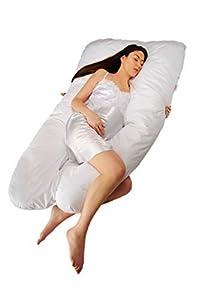 productos embarazo: Sanggol® - Almohada de embarazo/maternidad en forma de U, almohada de cuerpo com...