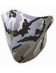 "GOODSPORTS® Masque Protection Demi Cagoule Neoprene ""Urban Camouflage"" - Taille unique réglable - Airsoft - Paintball - Outdoor - Ski - Snow - Surf - Moto - Biker - Quad"