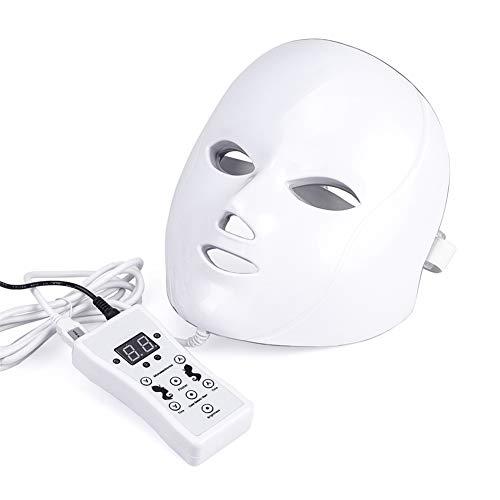 AOMASK 7 Farbe LED Gesichtsmaske Licht Elektrisch Gesichts Haut Pflege Lampe Therapie Photon Maske PDT Technologie zum Akne Reduzierung Haut Falten Lichtbehandlung - Led-technologien Und Licht-therapie