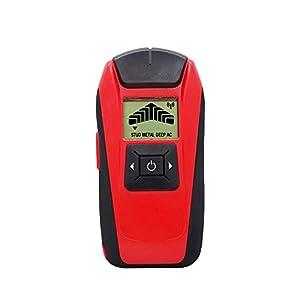 Stud Finder, Detector de pared, escáner de pared con pantalla LCD y alerta sonora para madera/yeso/cables eléctricos
